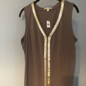Banana Republic embellished tank
